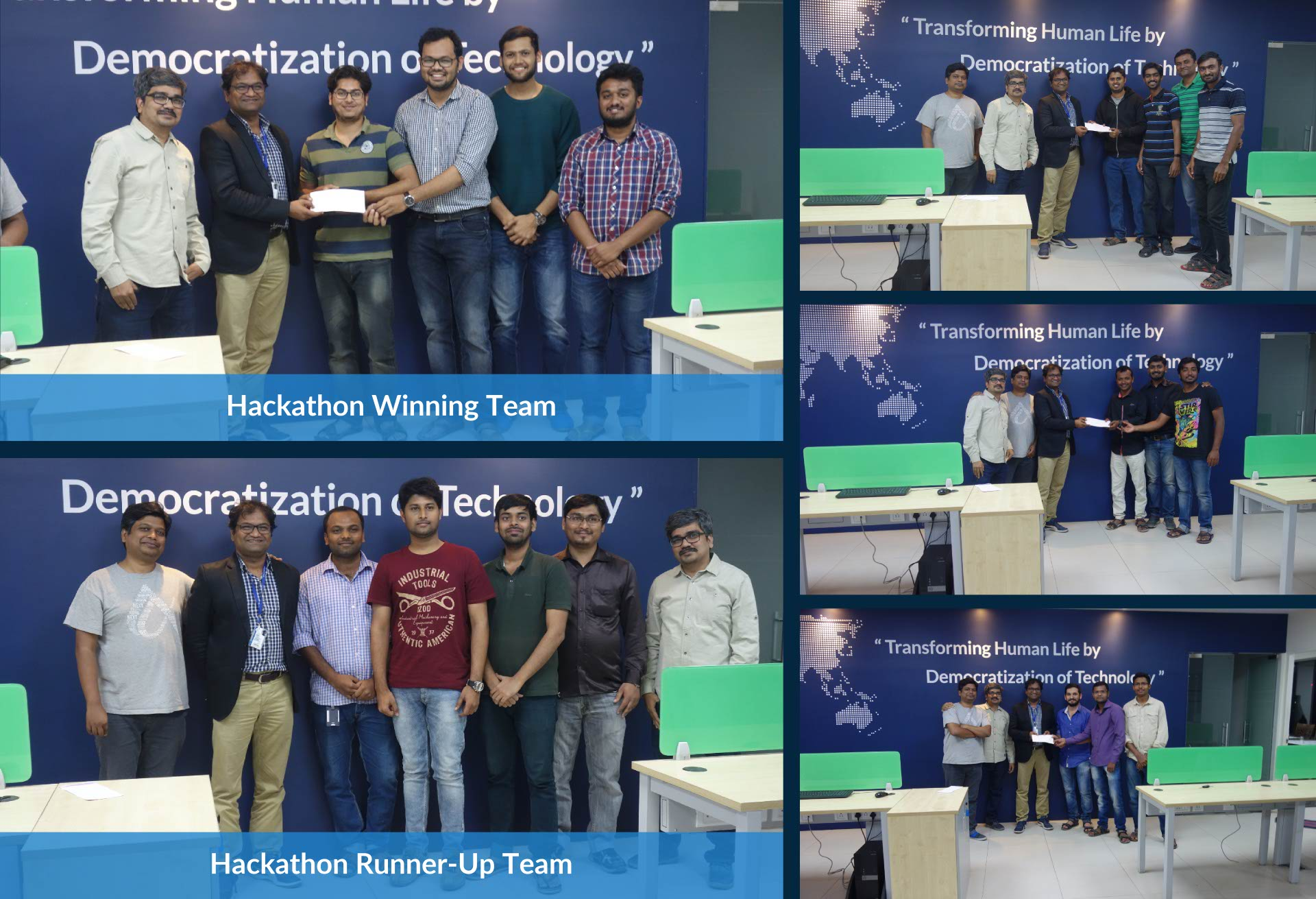CCTech's first hackathon winners