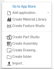 Create Feature Studio - Onshape FeatureScript