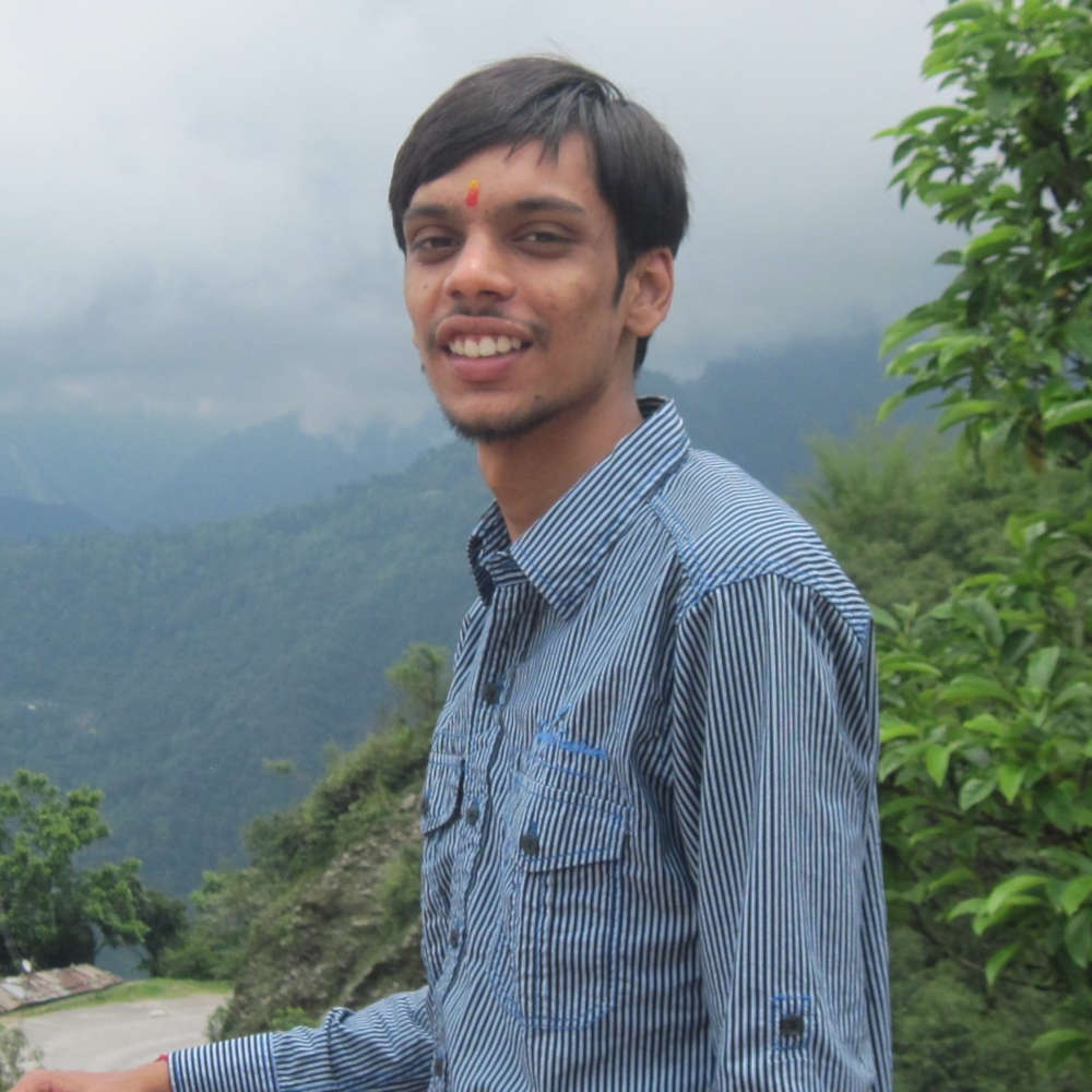 Blog Author - Suryansh Agarwal